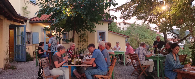 Wijnboer bezoeken Slovenie