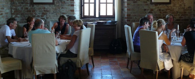 Wijnkasteel bezoeken italie